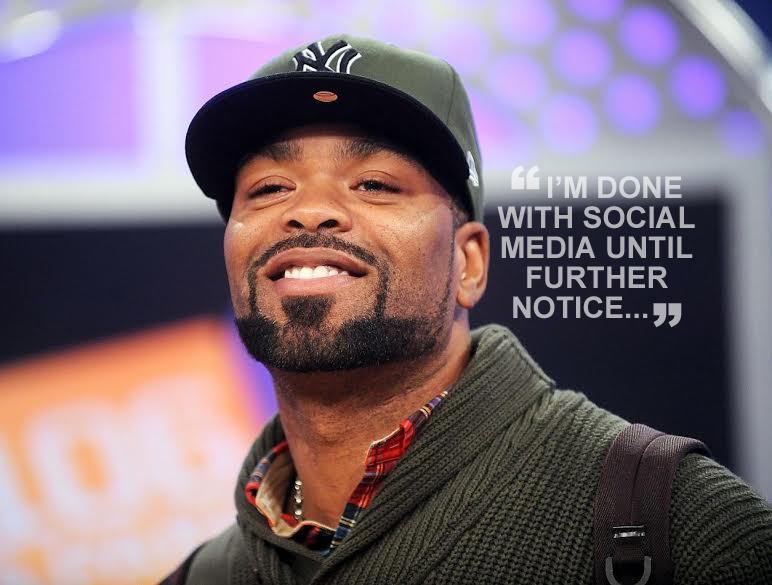 Method Man Pulls Plug On Social Media