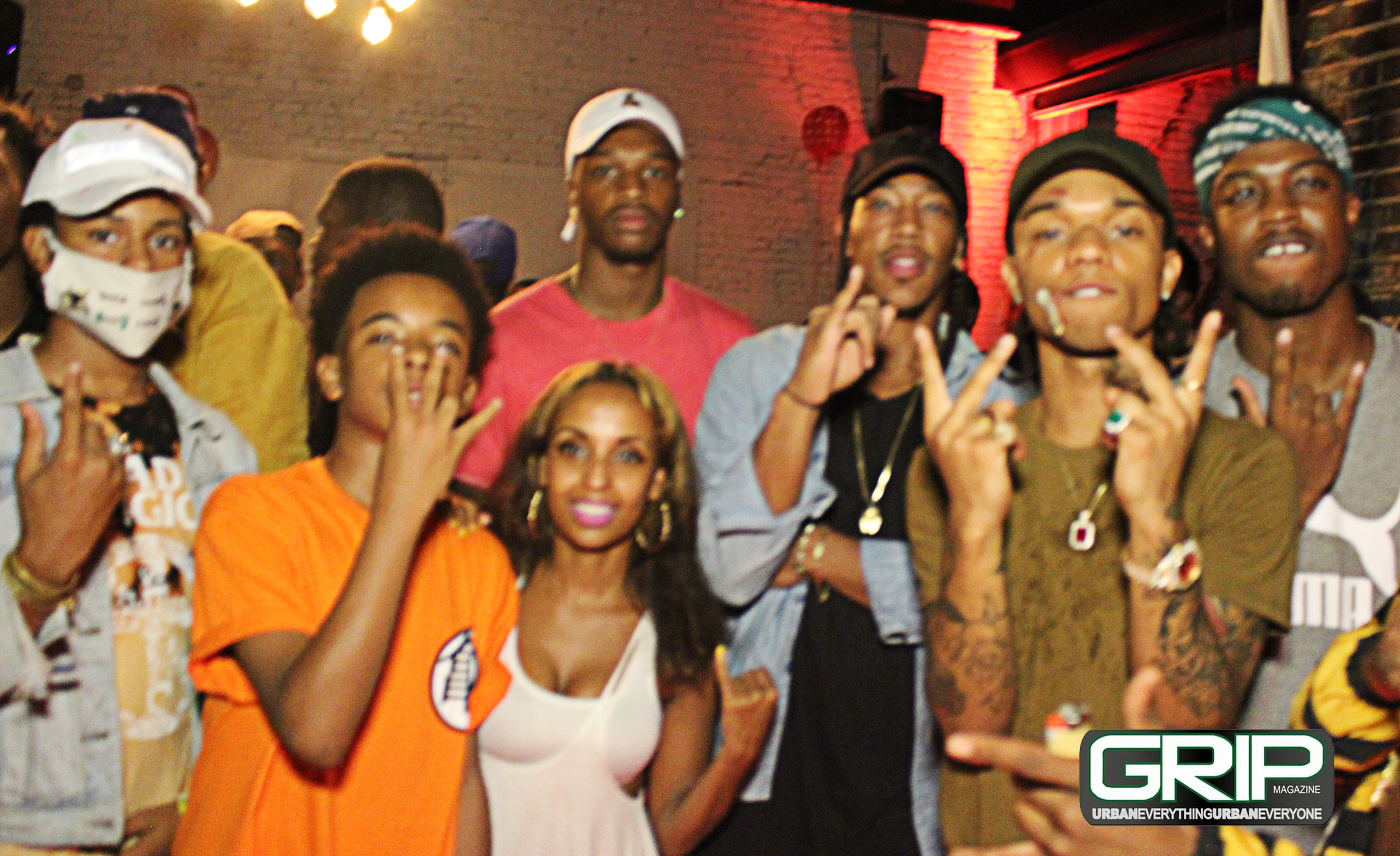 Pictures from Rae Sremmurd listening party