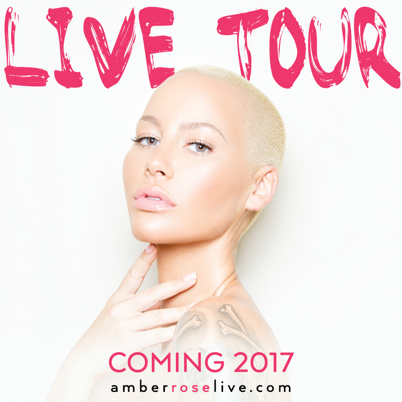 Amber Rose To Hold 2nd Annual Slut Walk This Weekend, Inks Deal For World Tour