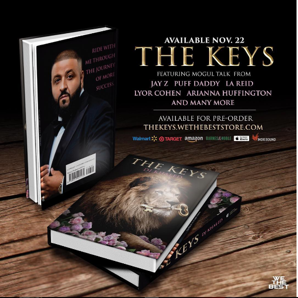"DJ Khaled Dropping New Book ""The Keys"" About His Road and Philosophies To Success [Video]"