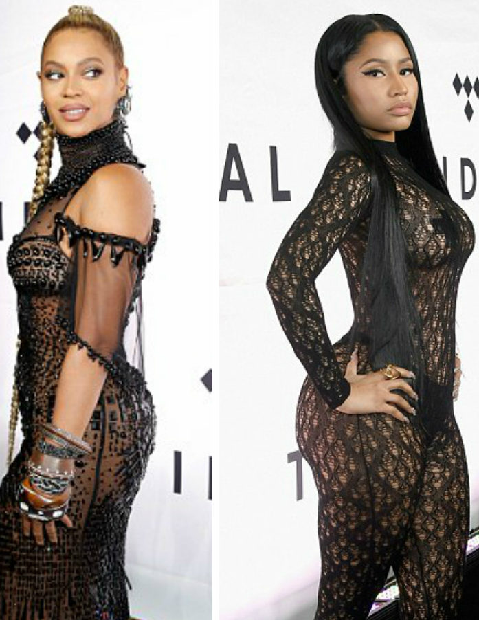 Nicki Minaj and Beyonce' Steal the Spotlight at Tidal X: 1015
