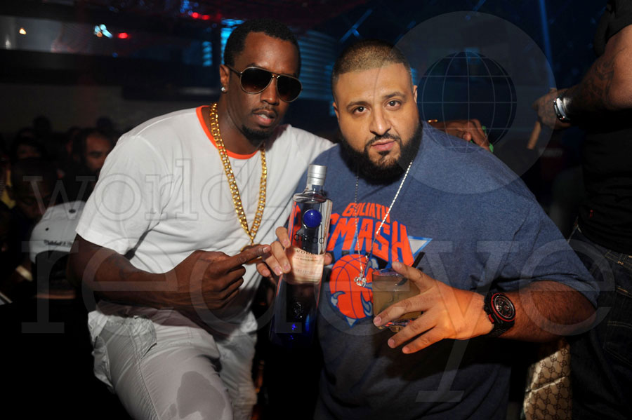 Diddy Names DJ Khaled As The Face Of  CÎROC MANGO [Watch Video]