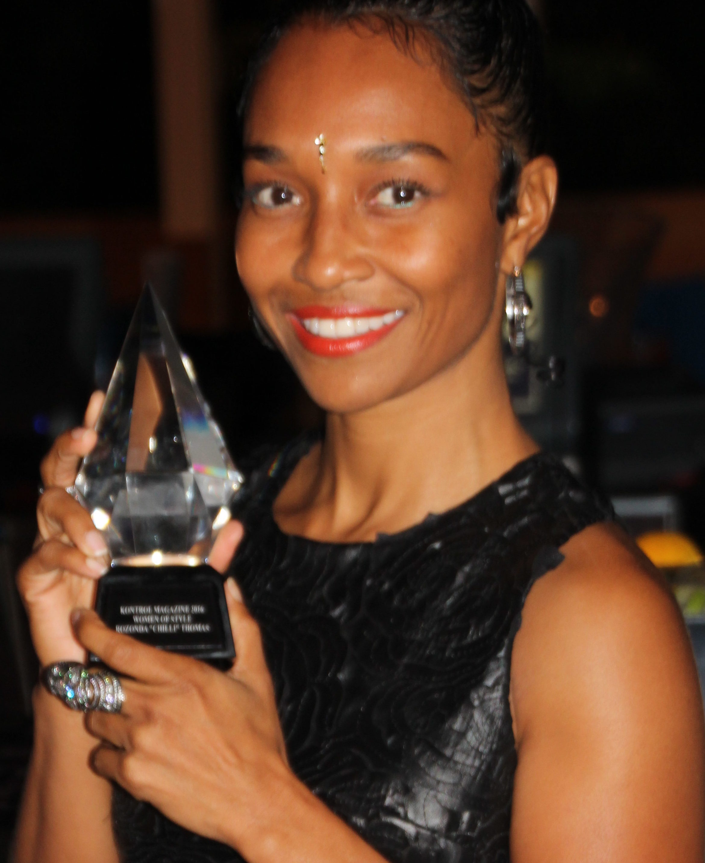 Chilli of TLC Honored at Women of Style Power Dinner