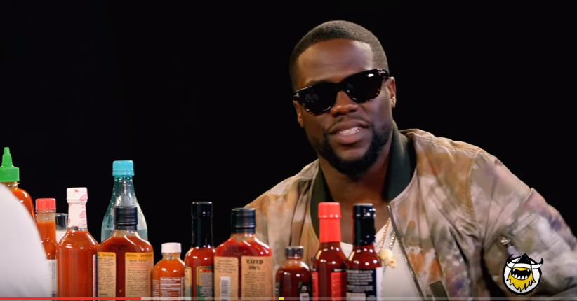 Kevin Hart Talks Sweet Cheeks and Chicken Wings With Hot Ones [Watch Now]