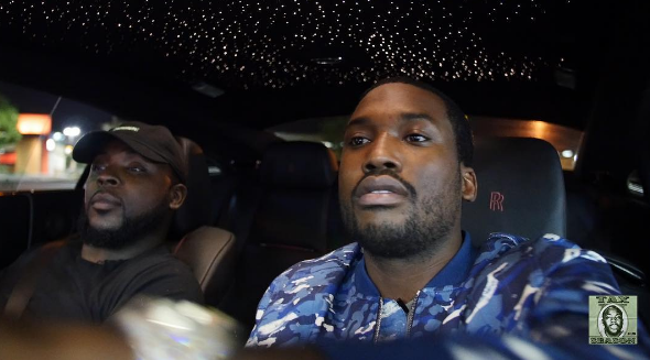 """Meek Mill Tells Taxstone He Thought Drake's """"Back To Back"""" Diss Was Hot [Watch Now]"""