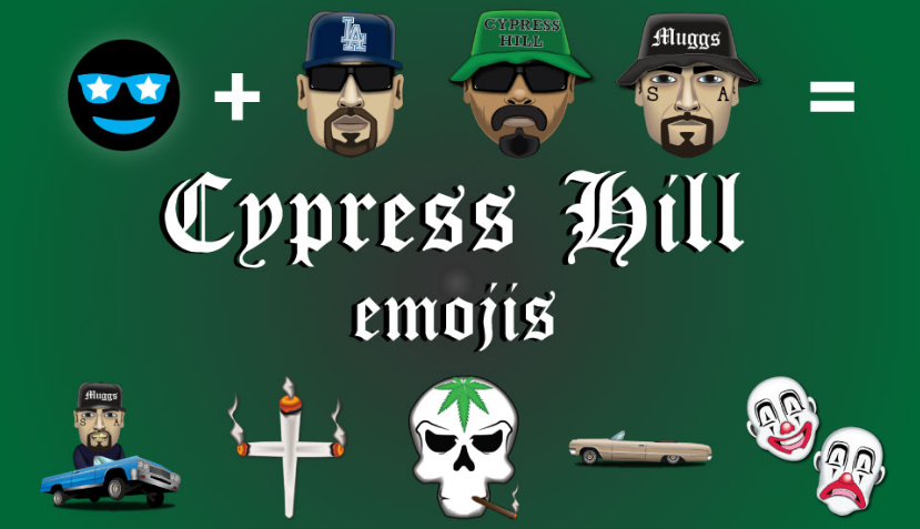 Cypress Hill Celebrate Their 25th Anniversary With The Release of Their Own Emojis in Partnership With Emoji Fame
