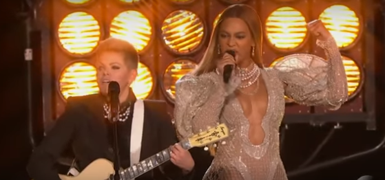 Beyonce Performs 'Daddy Lessons' at CMA Awards with the Dixie Chicks [Watch Now]