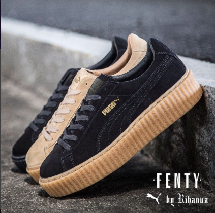 "Rihanna's PUMA x Fenty Creepers Named ""Shoe of the Year"" for 2016"