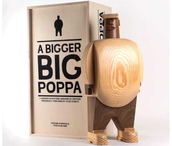 Grotesk Debuts Notorious B.I.G. Wooden Sculptures, Sells Out In Hours [Pictures]