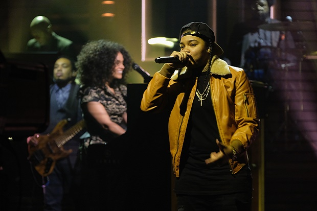 Young M.A Opens for Alicia Keys on 'The Tonight Show'