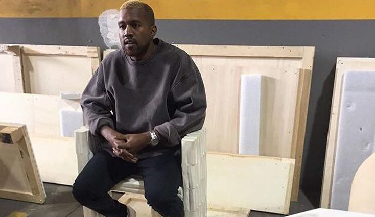 Kanye West Makes Public Appearance…As a Blonde