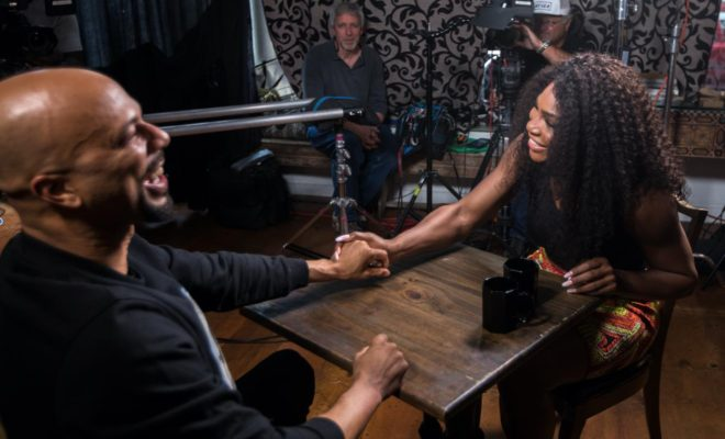 """Common Interviews Serena Williams On ESPN's """"The Undefeated"""""""