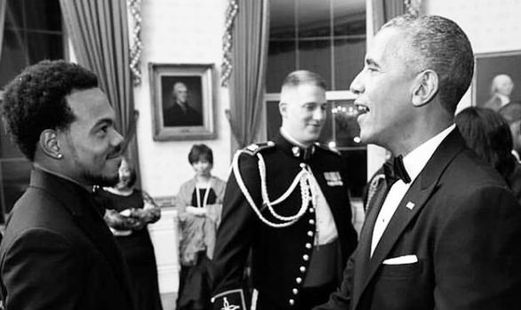 """President Obama and Chance The Rapper Sing """"Jingle Bells"""" [Watch Now]"""