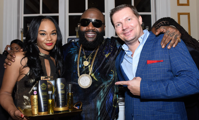 Rick Ross Announces New Business Partnership With Luxury Hair Cair Line RICH HAIR CARE