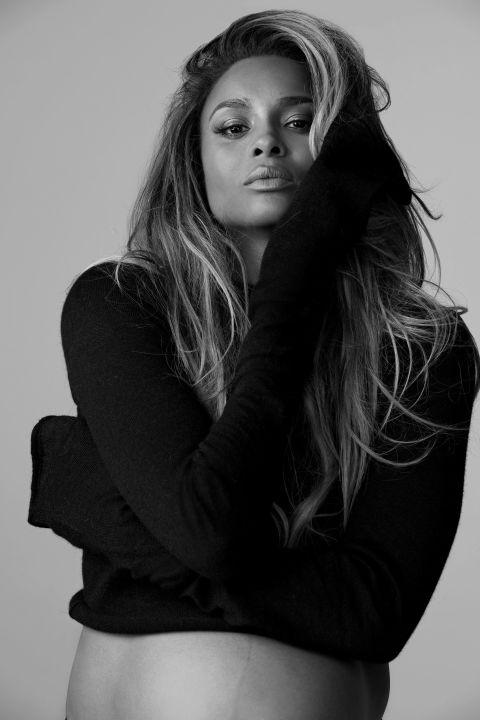 Ciara via Haper's Bazaar