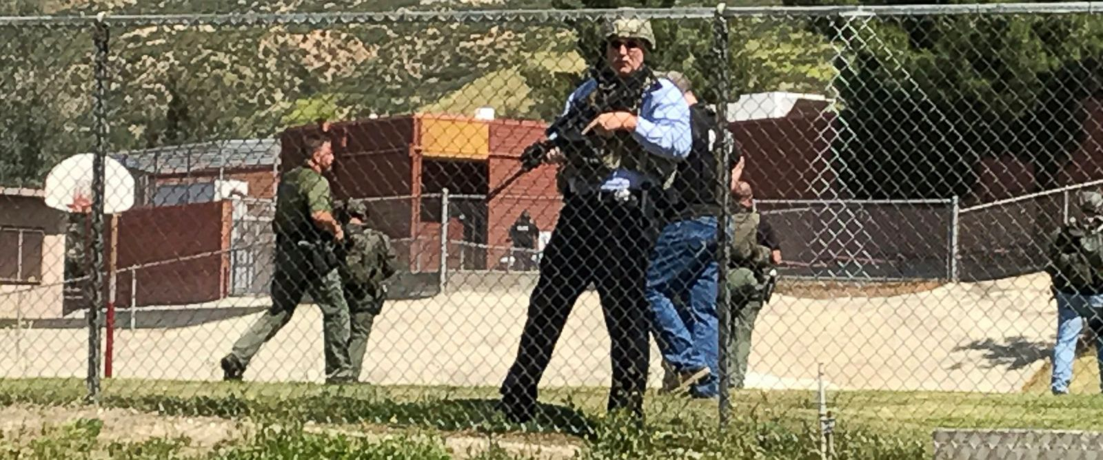 Two Dead And Two Wounded In San Bernardino School Shooting