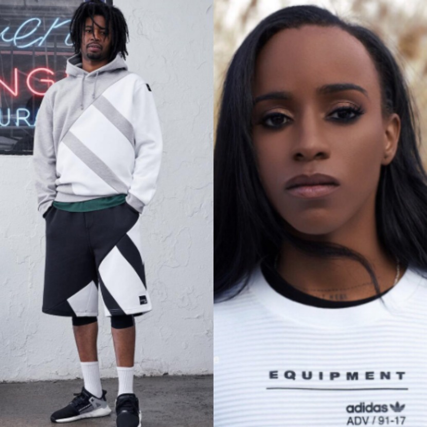 Detroit Rappers Angel Haze and Danny Brown Lace Up EQT's for Adidas