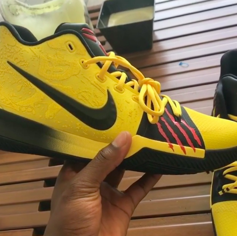 kyrie irving debuts kobe bryant sneaker collab inspired by bruce lee