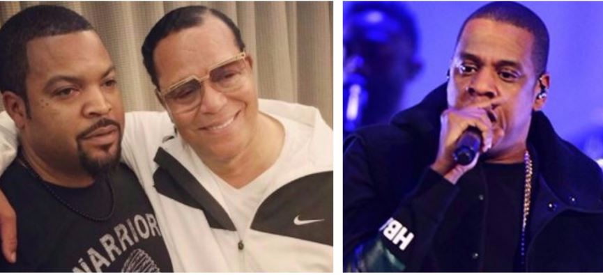 Minister Farrakhan Praises Jay-Z's '4:44' Album and Ice Cube's The Big 3 Basketball League for Promoting Black Economic Empowerment [Watch Now]