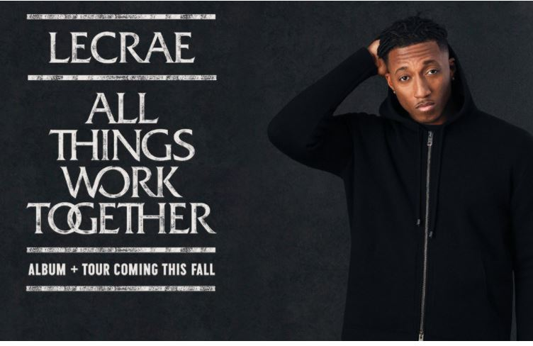 Lecrae Announces New Album and Tour 'All Things Work Together