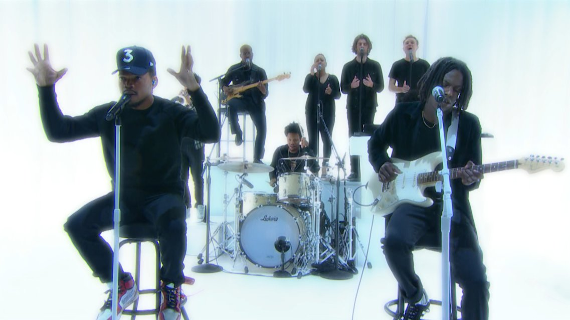 """Chance the Rapper Debuts A New Song on """"The Late Show"""" [Watch]"""