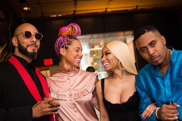 Is There Love In The Air For Nas and Nicki Minaj?
