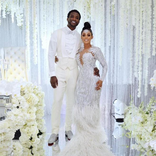 "0de7e833a Gucci Mane and Keyshia Ka'oir Tie the Knot for ""The Mane Event"""