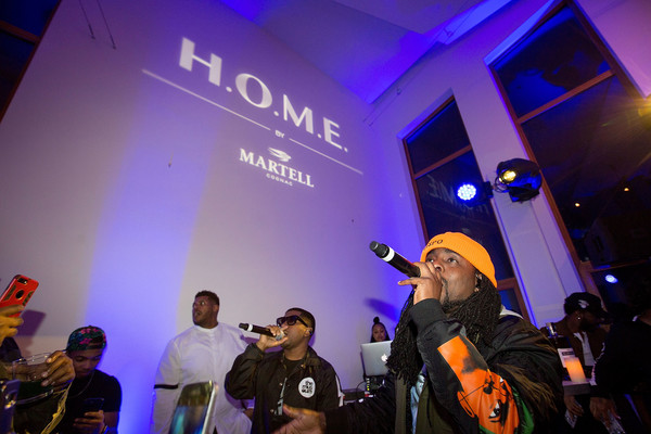 Rapper Wale Teams Up with Martell Cognac for H.O.M.E Event